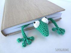 Flat Gecko Bookmark Pattern