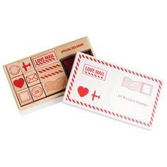 Postal Rubber stamps at kikki
