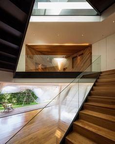 Modern minimalist home in Thailand: Baan Moom  by design studio Integrated Field