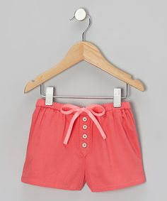 Take a look at this Raspberry Sherbet Bicycle Shorts - Toddler & Girls by Dress Rags Playwear on #zulily today!