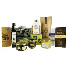 Gourmet Essentials Best Gift Baskets, Christmas Gift Baskets, Christmas Gift Box, Men And Babies, Larder, Yummy Treats, Baby Gifts, Gifts For Her, Essentials