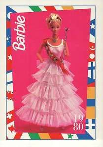 barbie collectible fashion trading card | Barbie-Collectible-Trading-Fashion-Card-Royal-Barbie-1980-The-Palace ...