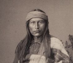 Naiche, youngest known son of Chief Cochise