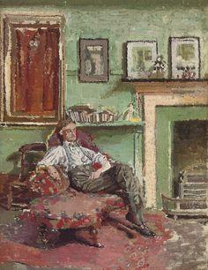 Self-Portrait  Malcolm Drummond - circa 1911