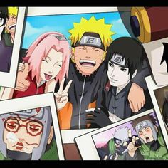 Naruto, Sakura, and Sai. Love the Yamato pic in the corner, hahaha