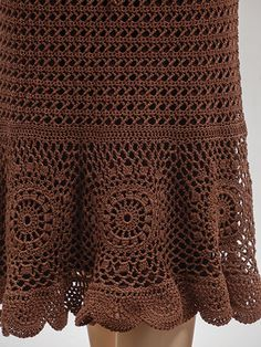 Chocolate Drop Skirt