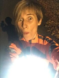 Thankful for my running light 😊