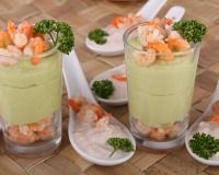 Recettes de verrines de crevettes : les recettes les mieux notées proposées par les internautes et approuvées par les chefs de 750g.
