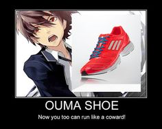 Guilty Crown: Ouma Shu XD - I hated shu's character. then he finally earned my respect as the first arc came to a close then lost it all again in the second arc nonetheless Guilty Crown was a great anime  is still on my list of top 5 (maybe 3) anime and definitely deserves a watch