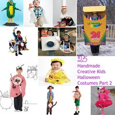 25 Handmade Creative Kids Halloween Costumes Part 2