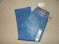NEW Lucky Brand Mens Jeans Size 36 Short 181 Relaxed Straight Medium 36 x 30 NWT