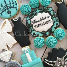 Breakfast at Tiffany's Cookies @cookieoccasions_