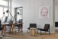 Fjord office in Helsinki - decorated by Joanna Laajisto   Residence