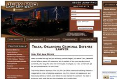 New Attorneys added to CMac.ws. Jury Pro Law Office in Tulsa, OK - http://attorneys.cmac.ws/jury-pro-law-office/223142/