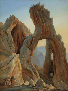 Thomas Fearnley, Arco Naturale, Capri, 1833, Norwegian (JPEG Image, 780×1038 pixels) - Scaled (54%)