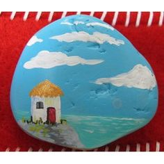 My Own Island Pet Rock - could paint any idyllic island onto a rock!
