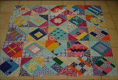 City Sampler - from Flickr: an idea for setting the Tula Pink Blocks