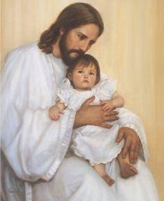 Jesus ama a los niños pequeños.