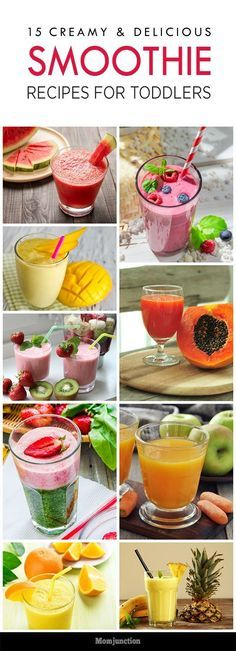 Are you always worried that your kid doesn't eat enough? You always complain that he is fussy about food habits? Try out these smoothie recipes for toddlers