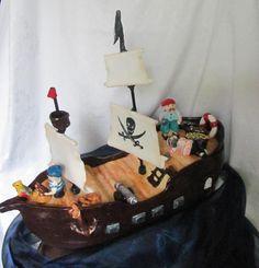 Pirátska loď , ostané torty pre deti torty | Tortyodmamy.sk