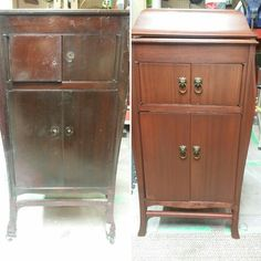 1907 Gramophone I restored Armoire, Restoration, Furniture, Home Decor, Clothes Stand, Homemade Home Decor, Closet, Home Furnishings, Interior Design
