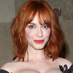 Celebrity red hair Christina Hendricks