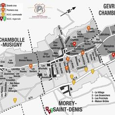 If you know your Burgundy vineyards this map will make your heart race! The markers are Stéphane Magniens Vineyards. Today we offer his 2015 Red Burg's http://ift.tt/2sy9G8r After trying the excellent 2014s from Magnien Ive been drooling at the thought of getting my laughing gear around his 2015s! Magnien's wines have a great purity poise and sophistication about them. Always vibrant and beautifully textured wait 5 years and you'll be in a very happy place! So many Pinots from Burgundy leave…