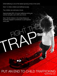 Fight the Trap - Human Trafficking Awareness Campaign | Designer: Lauren Christine | Image 1 of 2
