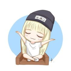 Chibi Lisa  cr. to the owner
