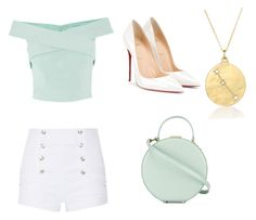 """""""An outfit Petra from Jane The Virgin would totally wear !"""" by molkabha on Polyvore featuring Pierre Balmain, Christian Louboutin, BROOKE GREGSON and Tammy & Benjamin"""