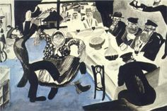 Jewish Wedding - Marc Chagall 1912