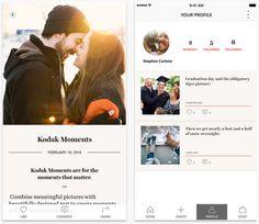 米Kodak社が、ストーリーテリングに特化した写真SNS「Kodak Moments」をiOSアプリとしてリリース - THE BRIDGE(ザ・ブリッジ)