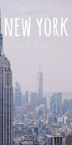 A trip to the big apple is special, but that doesn't mean it needs to be expensive. This is how to visit New York on a budget... http://theminimillionaire.com/travel/new-york-on-a-budget/