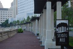 Bicentennial Park & Scioto Mile in Downtown Columbus, OH Bicentennial Park, Plain City, Landscaping Company, Columbus Ohio, Dream Big, Environment, Sidewalk, Backyard, Landscape