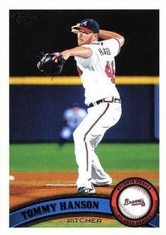 2011 Topps #505 Tommy Hanson  Front