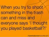 Basketball Problem Seriously tho! Passes me off!