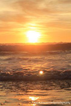 Sunset beach: Watsonville, CA