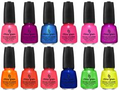China Glaze- Summer Neon collection. Summer is here!!