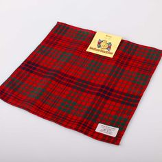 Ross Tartan Pocket Square. Free worldwide shipping available.