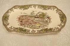 Check out this item in my Etsy shop https://www.etsy.com/listing/224603807/johnson-brothers-the-village-green-the