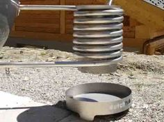 building a wood stove water heater - Google Search