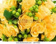 roses and green balls