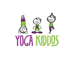 YogaKiddos.com Domain & Logo design - Friendly approachable design and memorable name for those who specialize in teaching the practice of yoga to kids Price $1500.00