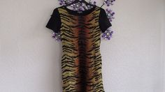 INDULGENCE  Animal   Print Jumper   Dress S/M  size 10 #Indulgence #JumperDress…