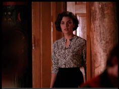 I am so in love with this sweater  - Audrey Horne  Twin Peaks