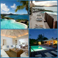 A St. Barts Villa with dramatic sunset views, a perfect villa for two couples desiring intimacy and privacy.