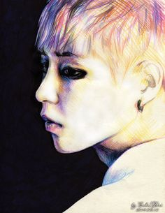 Xiumin EXO Overdose by SakuTori on deviantART kpop fanart