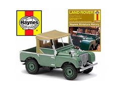 Land Rover Series I (Haynes Manual Set) in Green (1:43 scale by Corgi CC03005)