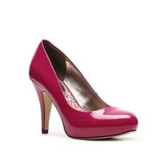 Madden Girl Shine Platform Pump synthetic red, green sz7, black, fuchsia(na) patent 3.75h sz7.5 39.95 MOVED