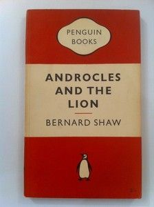 Vintage Penguin Paperback Book, no. 566: Bernard Shaw - Androcles and the Lion.